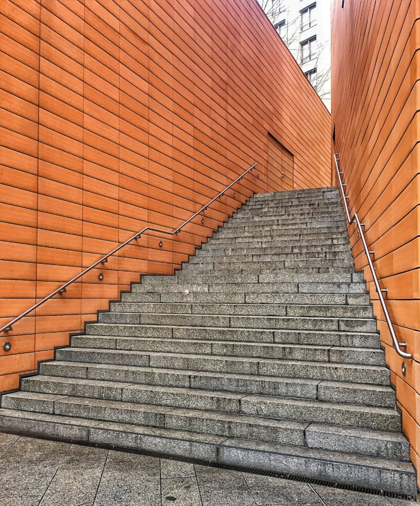 Stairs at Potsdamerplatz